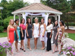 2009 Miss Wayne County Contestants